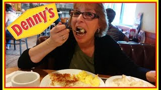Denny's 👍 Breakfast is Everything 🥓🥚🥞