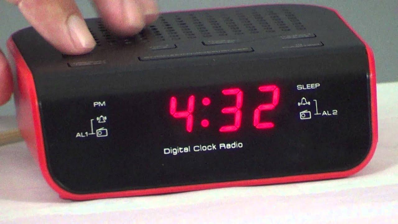 instructions to set iconic alarm clock youtube rh youtube com