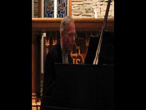 Fr. Denis Wilde performs Allegro de Concert by Frederick Chopin