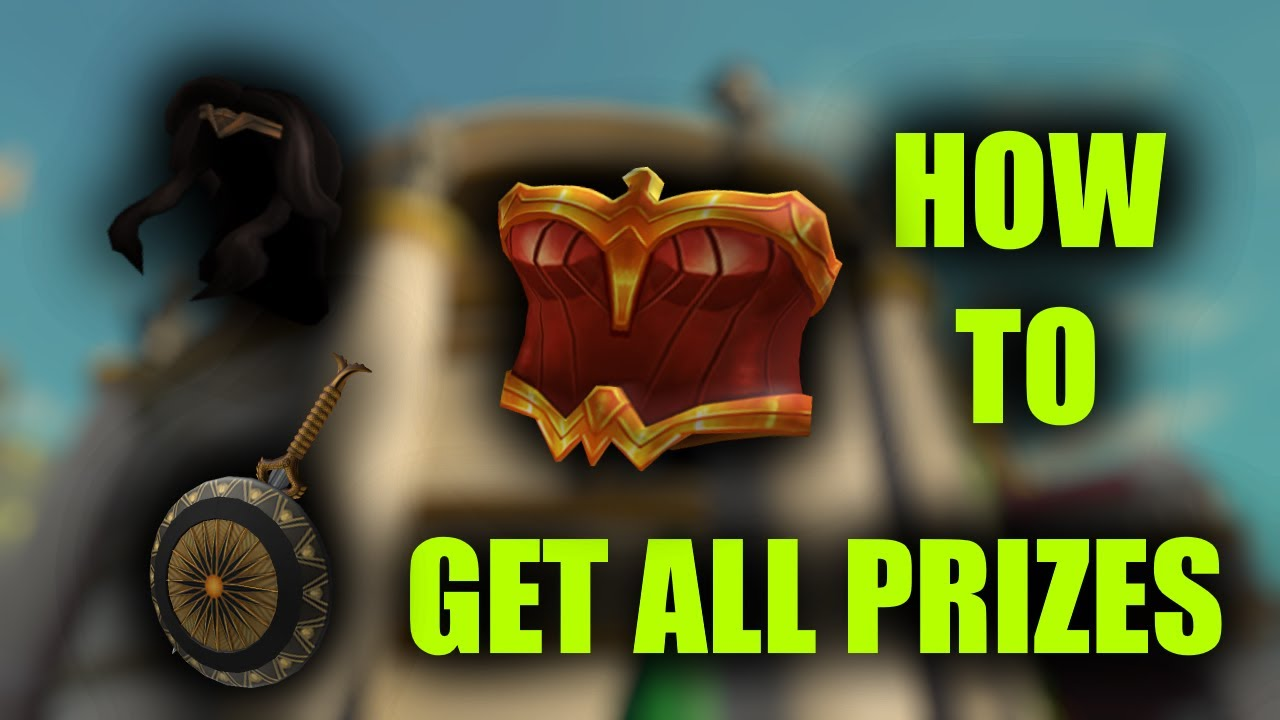 HOW to get ALL PRIZES in the Wonder Woman Event (Roblox)