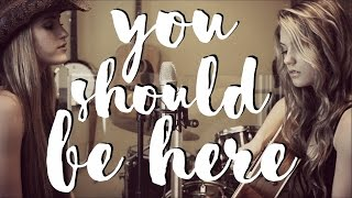"Cole Swindell ""You Should Be Here"" {COVER} 