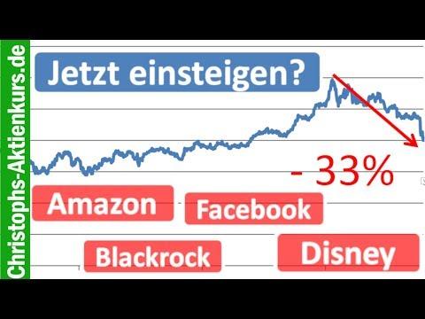 Jetzt Einsteigen? Amazon, Facebook, Blackrock & Disney Im Quick Check