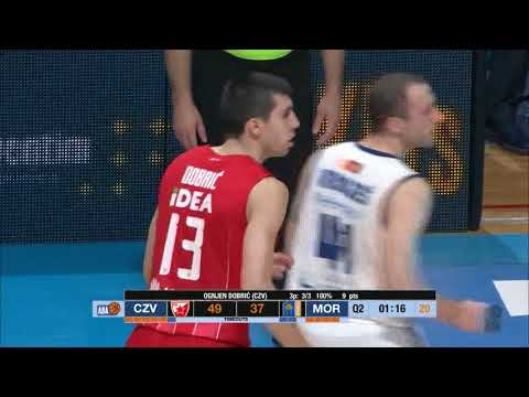 The red & white hero - Ognjen Dobrić (Crvena zvezda mts - Mornar, 2.4.2018)
