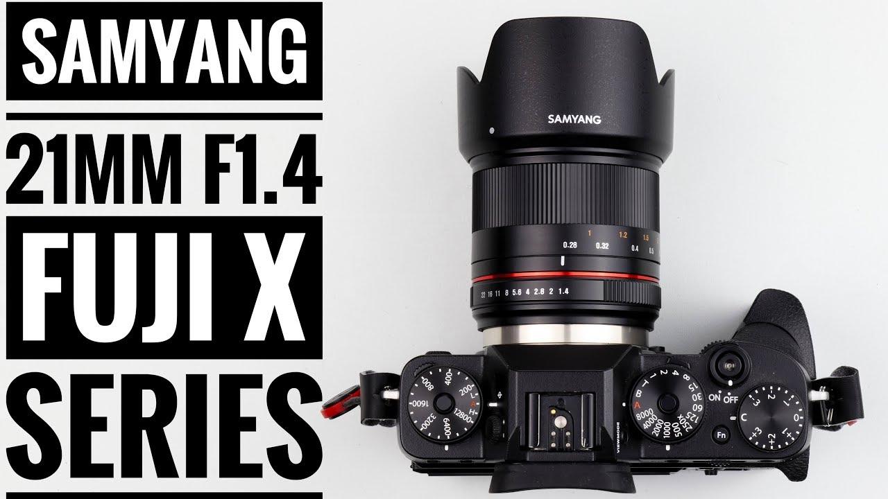 Samyang 21mm F1 4 CSC Lens - Fuji X Series!