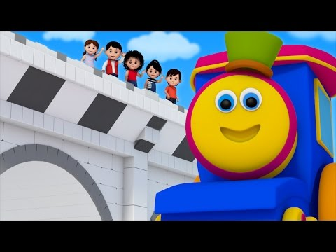 Bob The Train | London Bridge Is Falling...