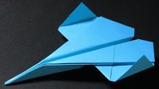 Paper Planes - How To Make A Paper Airplane That Flies - Easy Origami Jet | Immortal