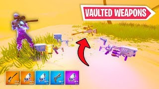 How to get *Vaulted Weapons* in Creative! (Fortnite Glitch)