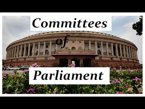 Joint Committees of Parliament : Easy way to Understand