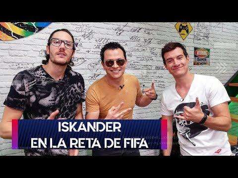 Iskander en la reta de FIFA   Agarra el Control