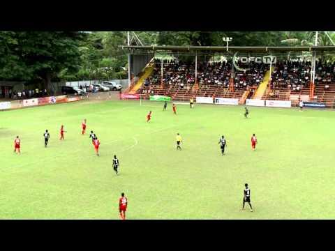 2014 OFC Champions League - Semi-Final 1st Leg - Ba FC vs Amicale FC Highlights