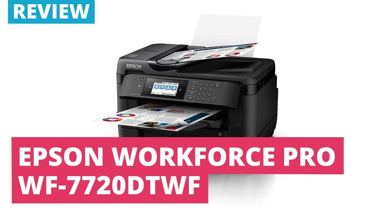 Printerland Review: Epson Workforce Pro WF-7720DTWF A3 Colour Multifunction  Inkjet Printer