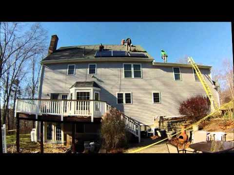SolarCity Installation of Solar Panels