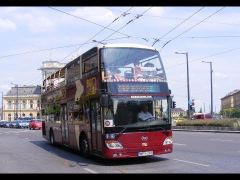 Big Bus City tour Budapest, Blue Route.