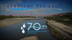 70 ANS SYNDICAT DES EAUX - Design by IPSUMEDIA