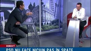 Realitatea pe Net. Victor Ponta: Dragnea pune guvernul pe butuci
