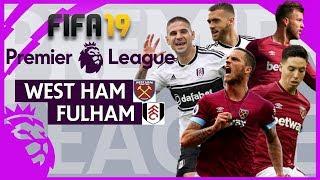 West Ham vs Fulham | FIFA 19 Premier League Gameweek 27 Highlights