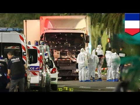 France terror attack: Truck drives into Nice Bastille Day crowds, killing at least 80 - TomoNews