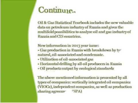 Bharat Book Presents : Oil and Gas Statistic Yearbook 2013