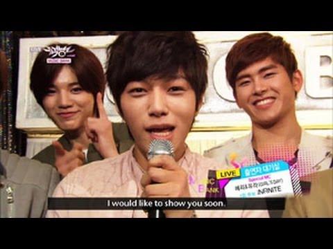 [Music Bank w/ Eng Lyrics] Hot Backstage! with INFINITE (2013.04.20)