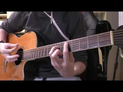 Staind Outside Guitar Cover Acoustic Youtube