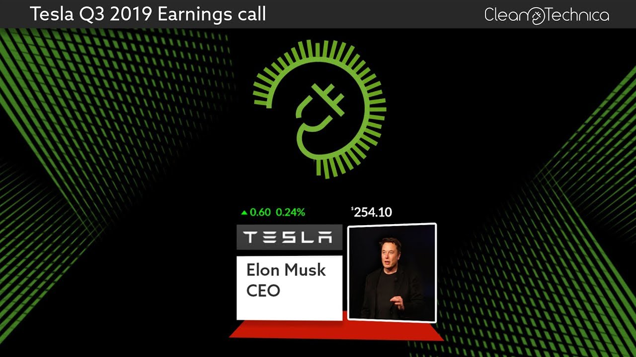 Edited Transcript of TSLA earnings conference call or presentation ...