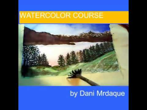 Painting the Summer Landscape-watercolor technique