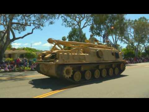 Torrance CitiCABLE   US Armed Forces Day Parade 2016   Military Assets Segment 1080p