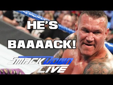 WWE Smackdown Live 7/17/18 Full Show Review & Results: STYLES VS ALMAS, HEEL RANDY ORTON IS BACK!