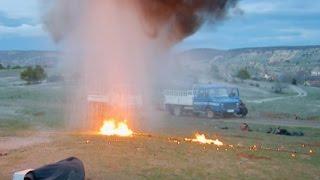 Teröristlerle Serdar Yüzbaşı arasında kimyasal silahı mücadelesi   SUNGURLAR 046