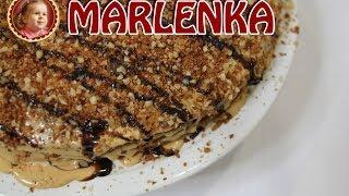 Marlenka bzw. Medovník Honigkuchen mit dulche de leche  BaKO