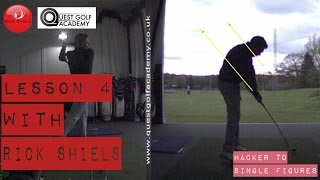 LESSON 4 with Rick Shiels at Quest Golf Academy