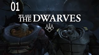 Let's Play We Are The Dwarves - Ep.01 - Crash Landing - We Are The Dwarves Gameplay!