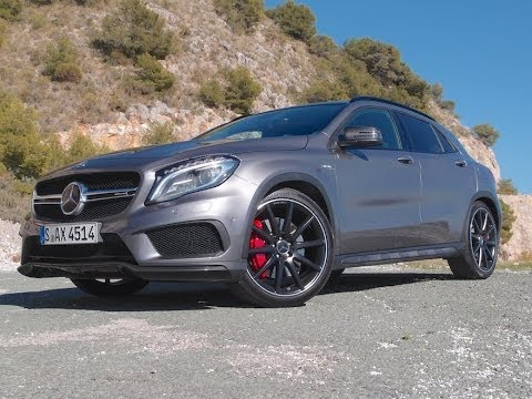 2015 mercedes gla 45 amg review - youtube