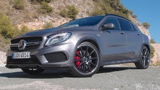 2015 Mercedes GLA 45 AMG review