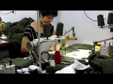 small sewing factory in North Vietnam