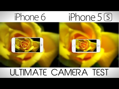 iPhone 6 vs iPhone 5S - Ultimate Camera Comparison Test