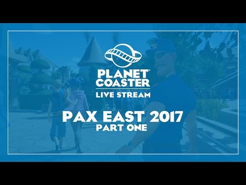 Planet Coaster LIVE from PAX East! Part 1