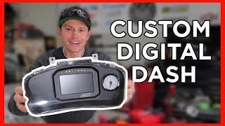 homepage tile video photo for Mitsubishi Evo 6 Gets CUSTOM CD-5 DIGITAL DASH