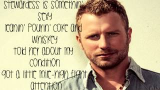 Drunk on a Plane Lyrics - Dierks Bentley