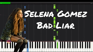 Selena Gomez - Bad Liar Piano Tutorial