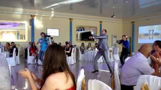 современный свадебный танец жениха и невесты.19.07.13