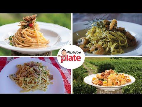 4 PASTA RECIPES | Easy Italian Pasta Recipes | Italian Food