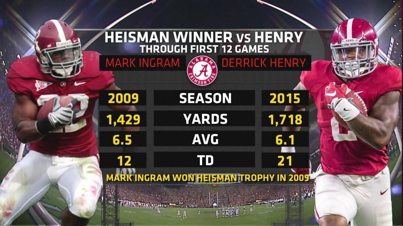 sneakers for cheap b57d9 3947b Alabama Running Back Derrick Henry Wins Heisman Trophy : The ...