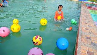 INI BARU SERU..!! TERAPI IKAN dan bermain air sambil belajar berenang