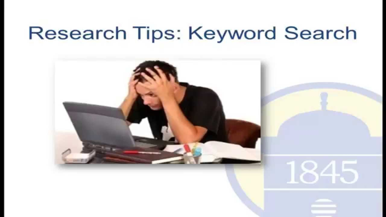 research tips effective keyword search techniques research tips effective keyword search techniques