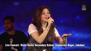 Balam Pichkari   Live Concert Royal Sr  Sec  School Jabalpur   Kanika Kapoor