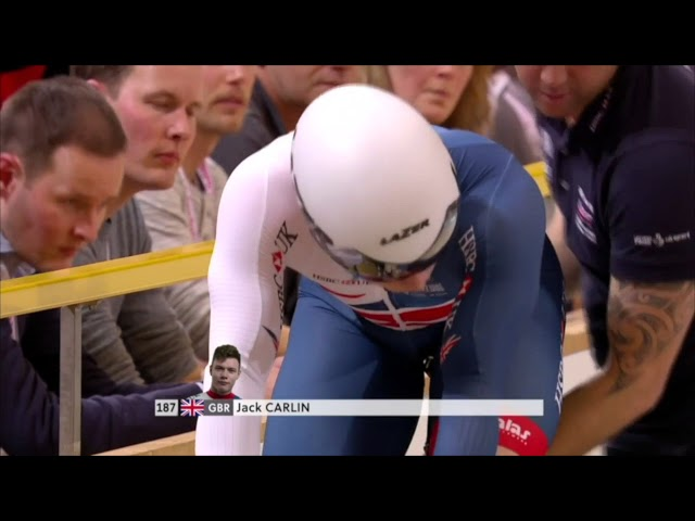 2018 Track Cycling Elite World Championships, Mens sprint finals ride one