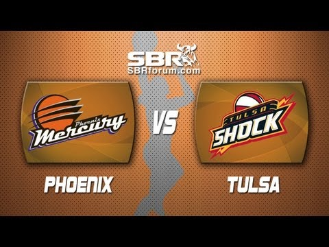 WNBA Picks - Phoenix Mercury vs Tulsa Shock Betting Preview and Handicapping Analysis