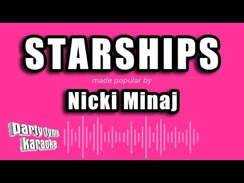 Nicki Minaj - Starships (Karaoke Version)