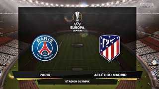 FIFA 19 | PSG vs Atletico Madrid | UEFA Europa League | - PS4 Pro
